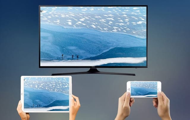 كيفية عرض شاشة الهاتف على التلفاز