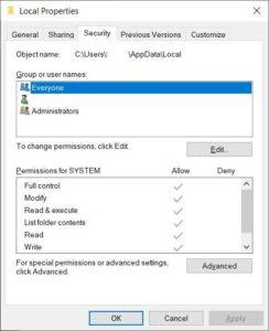حل مشكلة Error 0x80070057 لنظام التشغيل ويندوز