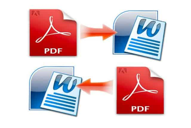 كيفية تحويل ملف وورد إلى PDF على الكمبيوتر (او العكس)