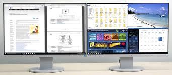 كيفية تقسيم شاشة الكمبيوتر ويندوز 10